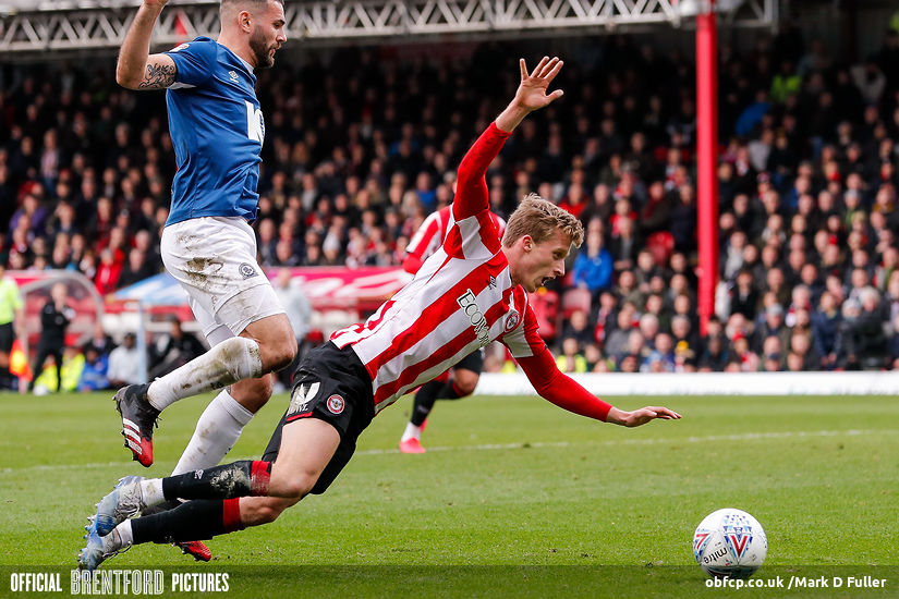 BRENTFORD 2 BLACKBURN ROVERS 2