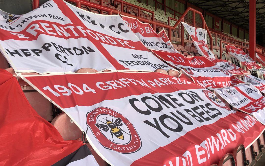 SALUTE TO THE GRIFFIN PARK FLAGS