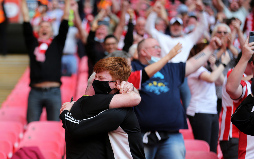 'I FOUND MYSELF CRYING FLOODS OF TEARS' – ONE FAN'S MEMORY OF SATURDAY AT WEMBLEY
