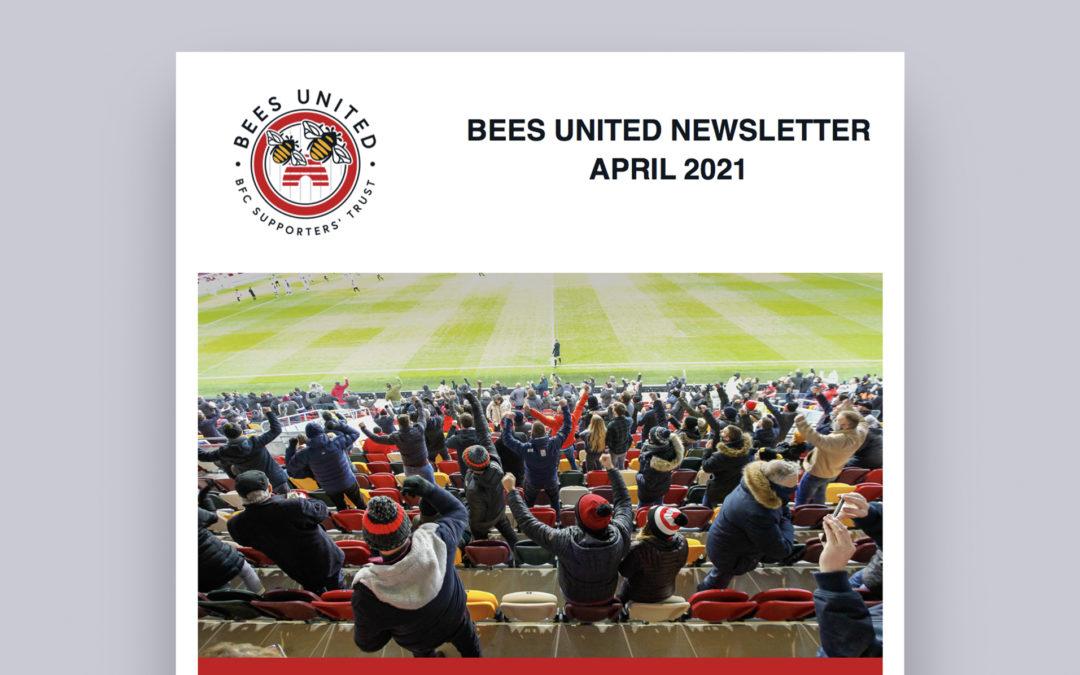 April Bees Newsletter