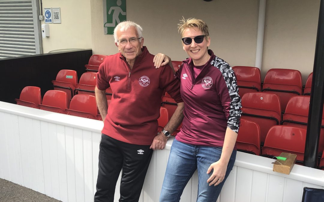 BEES DAD AND DAUGHTER TAKE WOMEN'S TEAMS FORWARD WITH BRENTFORD FC